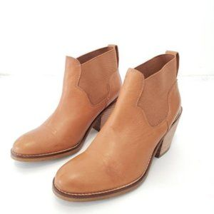 Aldo Leather Ankle Boots Brown Size 39.